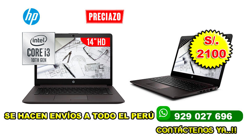 LAPTOP HP 240 G7 I3-1005G1 4GB 1TB